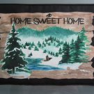 Large Pot Holder Woodsy Camping Home Sweet Home
