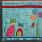 Pot Holder Unique Large Size Neighborhood Cat Tree on Right Casserole Hot Mat, Hot Pad