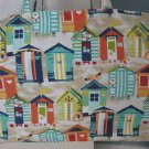 NEW Large Folding Eco Friendly Tote Bag - Beach Huts