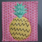 Unique Pot Holder Pineapple Design for Summer Fun Picnic, BBQ Hot Pads Hot Mat