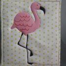 Unique Pot Holder Pink Flamingo Design for Summer Fun Picnic, BBQ Hot Pads Hot Mat