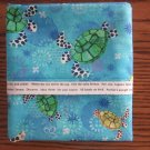 Sea Turtles fits Standard or Queen Size Cotton Pillow Case
