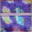 My Little Pony Sleepytime Pillow Case fits Standard or Queen Size Handmade Cotton