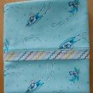 Unique Designs Pillow Case Children or Toddler Kids on Jets Fits Queen or Standard - Handmade