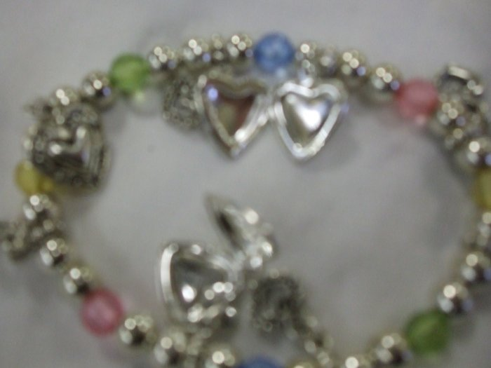Locket Stretch Bracelet