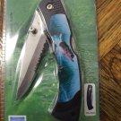 Bass Pocket Knife With Pocket Clip