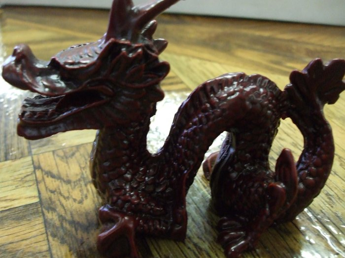 Resin Chinese Dragon Figurine
