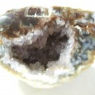 Geode Half Lots Of Crystals Polished Face        (ER01)