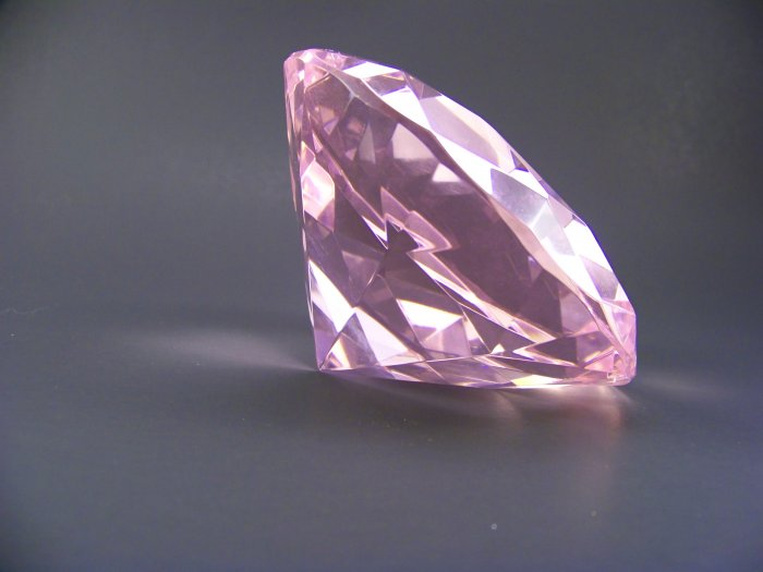 Pink Crystal Diamond-Extra Large