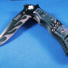 Defender Extreme Black Flame Knife