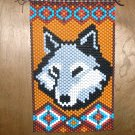 Wolf Banner Hand Crafted
