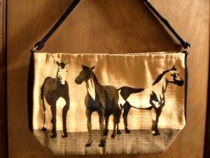 Horse Shoulder Bag/ Purse