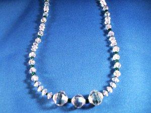 Swarovski Crystal Necklace Hand Crafted