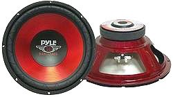 PYLE 10 IN HIGH PERFORMANCE WOOFER (Model: PLW10RD)