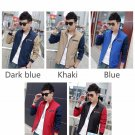 Fashion Jacket Men Trend Patchwork