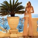 Top Fashion Deep Vneck Plunge Back Hollow Celebrity Party Club