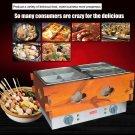 1PC Commercial 3 cylinder 14 frames Electric kanto cooking machine 110V/220V
