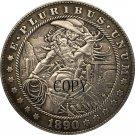 wholesale 10 coins 1890-CC Hobo Nickel USA Morgan Dollar COIN COPY