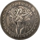 1881-CC Hobo Nickel USA Morgan Dollar COIN COPY