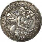 1895-O Hobo Nickel USA Morgan Dollar COIN COPY