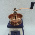 Coffee grinder hand-made wooden in antique style, coffee grinder, grind coffee, coffee