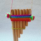Samponia (Chile) wooden, musical instrument, samponia bamboo