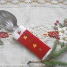 Cutlery set 2 pieces, Christmas cutlery, Christmas decorations, decoration for Christmas tables