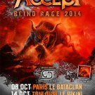 Accept CD -  Paris Le Bataclan 2014