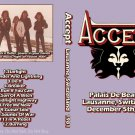 Accept CD - Lausanne Switzerland 1981