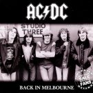 AC-DC CD - Back to Melbourne 81