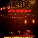 AC-DC CD - Donington Park 1984