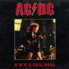 AC-DC CD - Evil doll - Paris 1979
