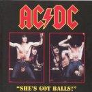 AC-DC CD - She's Got Balls - Towson 79