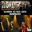 AC-DC CD -  Stade de France - Paris 2015 - 1 night
