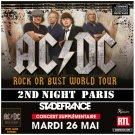 AC-DC CD -  Stade de France - Paris 2015 - 2 night