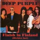 Deep Purple  CD - Finish In Finland - Helsinki 1993