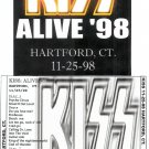 KISS CD - HARTFORD CT 1998