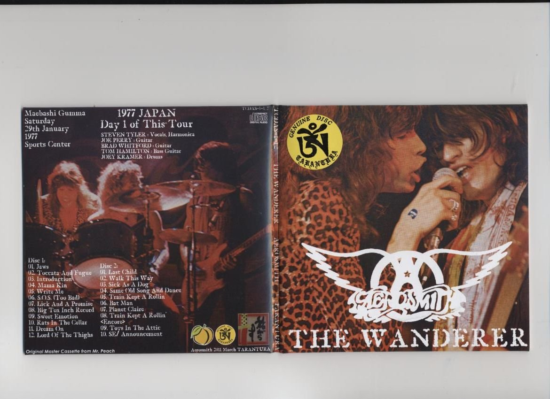 Aerosmith CD - The Wanderer - Gumma 1977