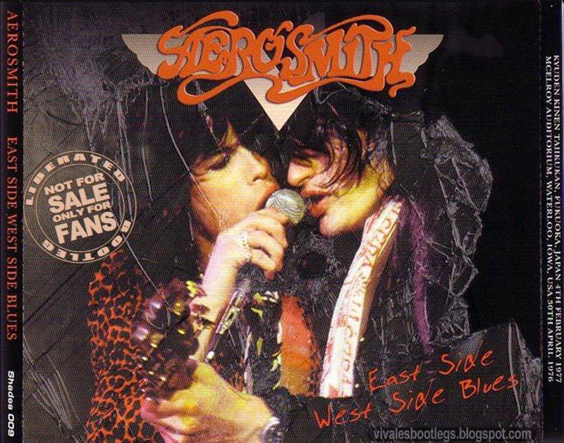 Aerosmith CD - East Side West Side Blues - 3 CD SET!