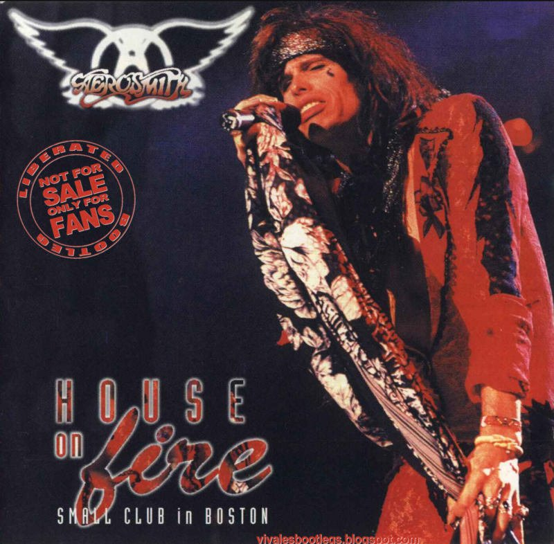 Aerosmith CD - House on Fire - Boston 94