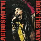 Aerosmith CD - Rock This Way - Switzerland 1990