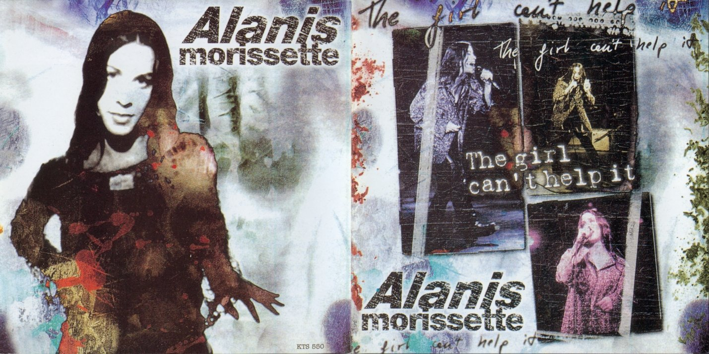 Alanis Morissette CD - The Girl Can't Help It - Germany 1996