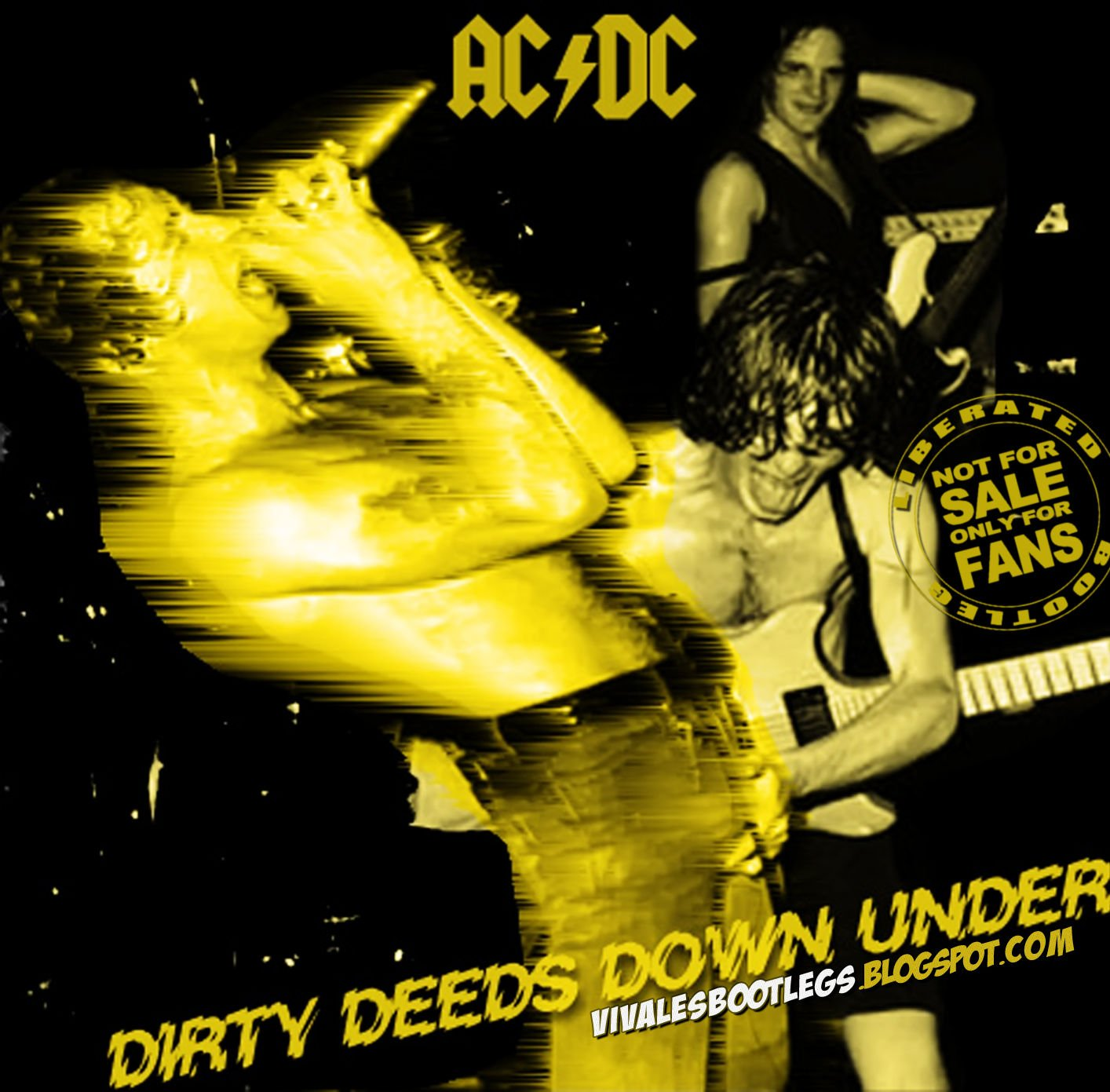 AC-DC CD  -  Brisbane AU - 12-18-76