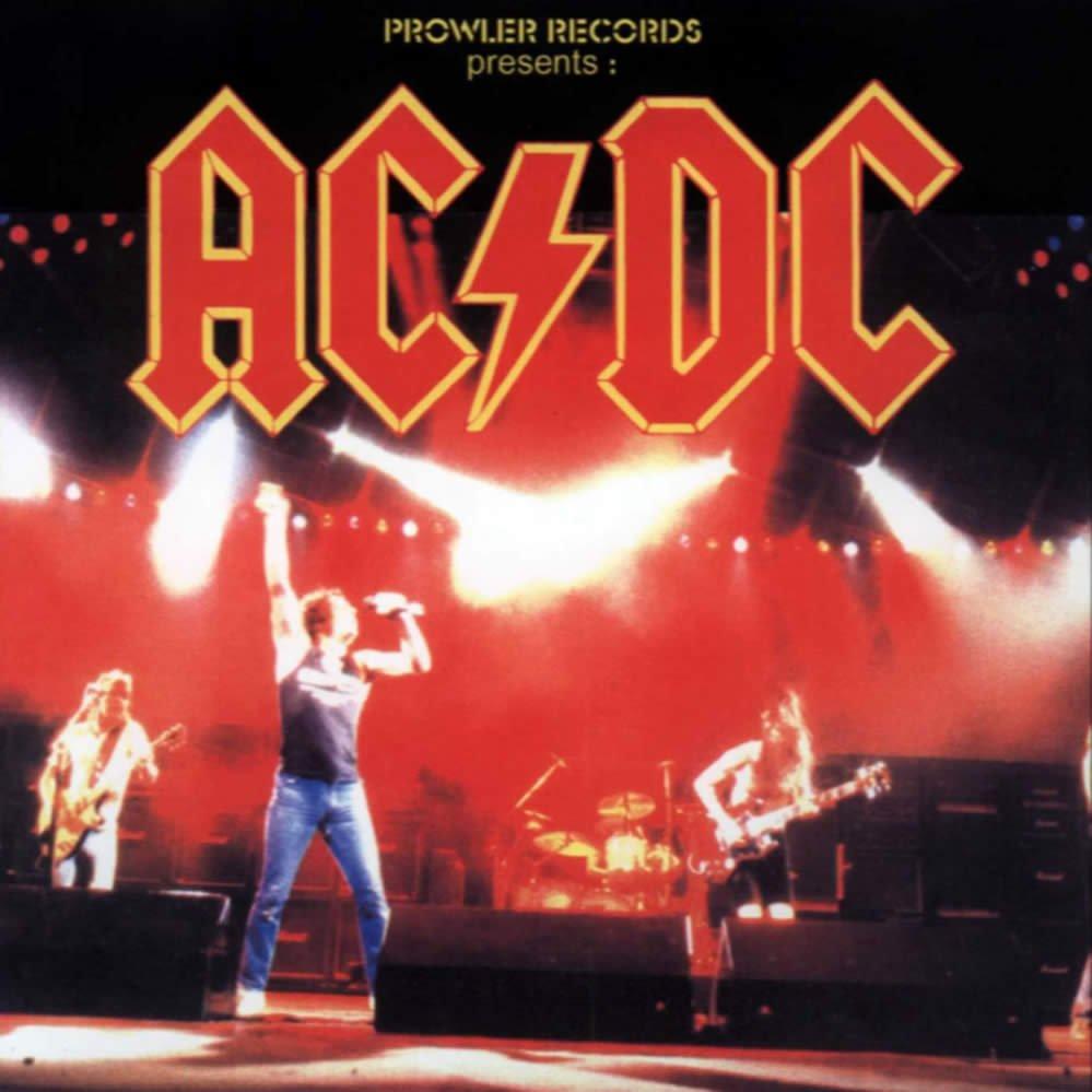 AC-DC CD  - Fly On Tour - Austin Texas 1985