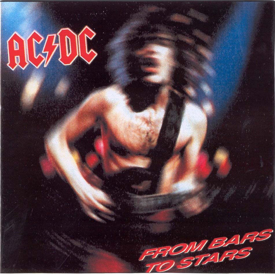 AC-DC CD  - From Bars To Stars