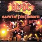 AC-DC CD  - Safe In Cincinnati