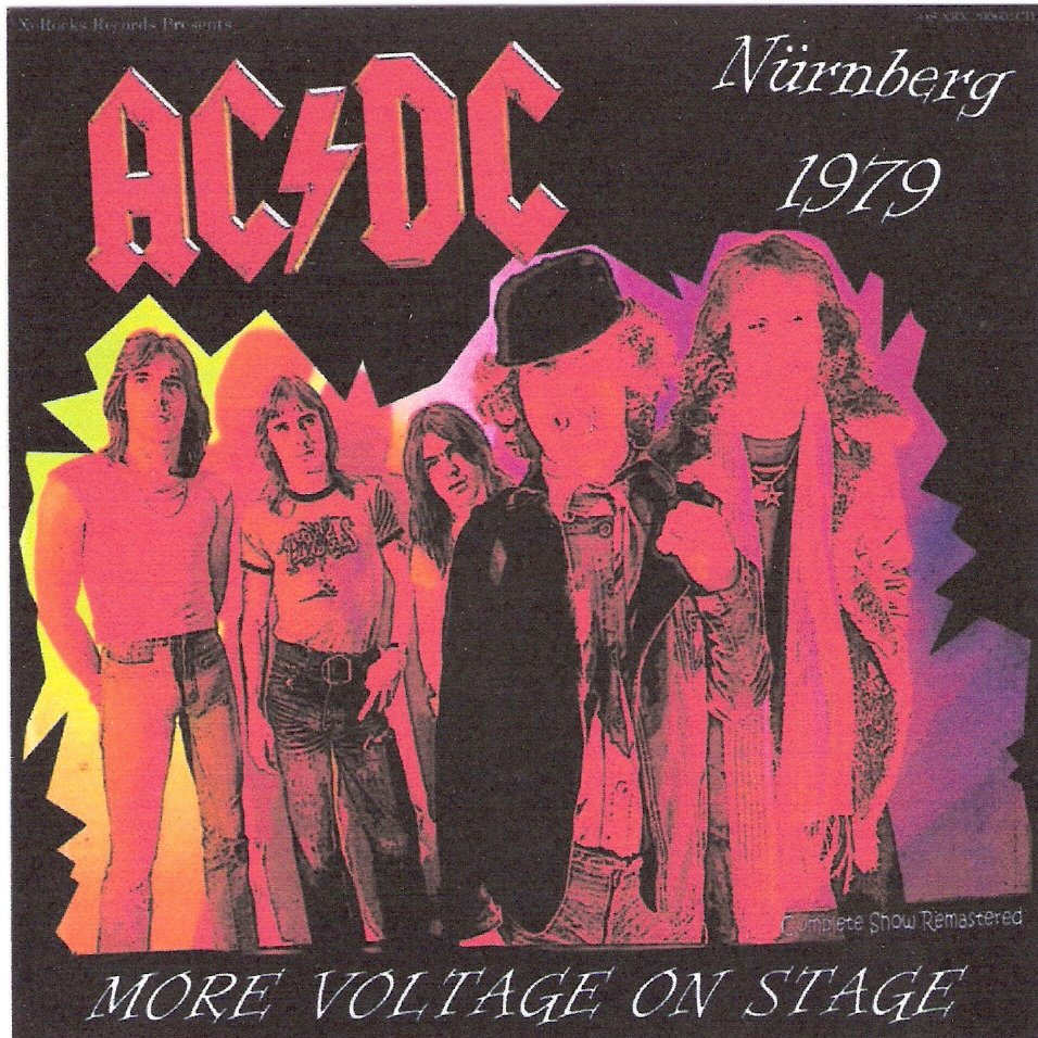 AC-DC CD  - More Voltage On Stage