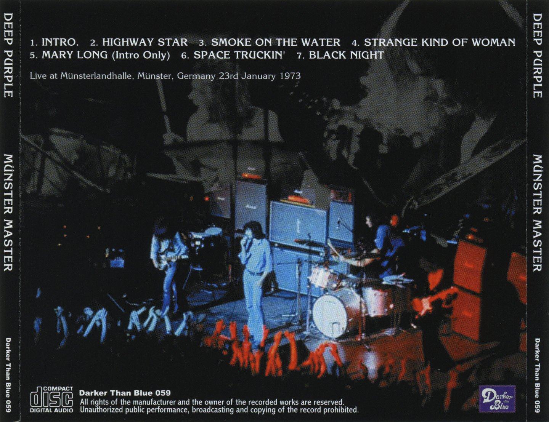 Deep Purple CD - Munster Master 1973