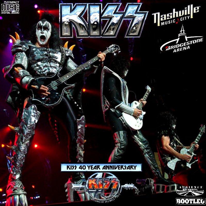 KISS CD - NASHVILLE 2014