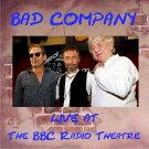 Bad Company CD - The BBC Radio Theatre